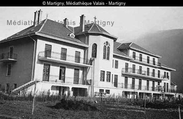 [Hôpital de Martigny]
