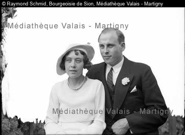 [Mariage Jean Bühlmann-Delaloye, Sion]