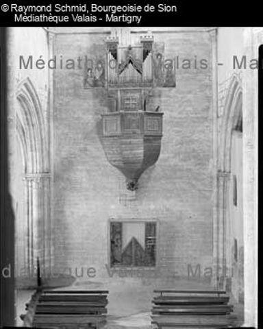 [Cadran astronomique sur la façade de l'Hôtel de ville, Sion]
