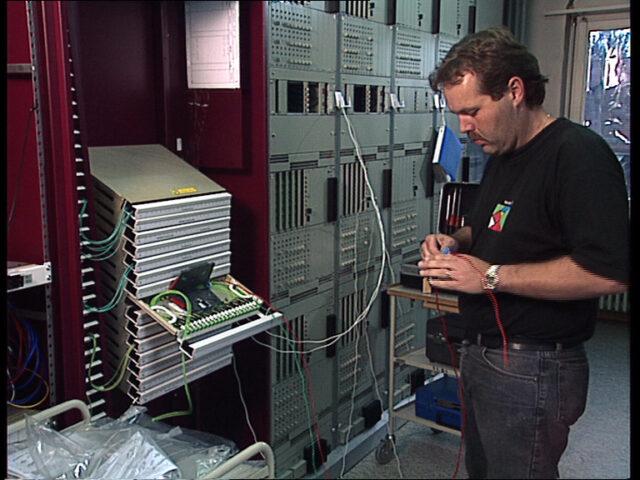 Montagetechnik Leitungsnetze: Kabelendstelle Glas