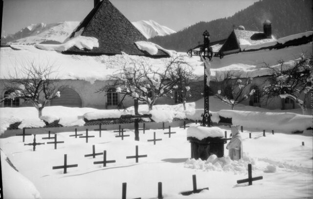La Valsainte, cimetière des Pères