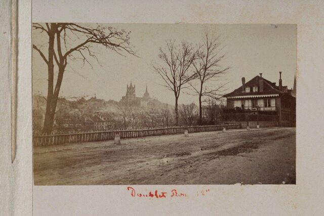 Lausanne, avenue Jules-Gonin, rue du Grand-Chêne (P.2.D.2.10.66.010)