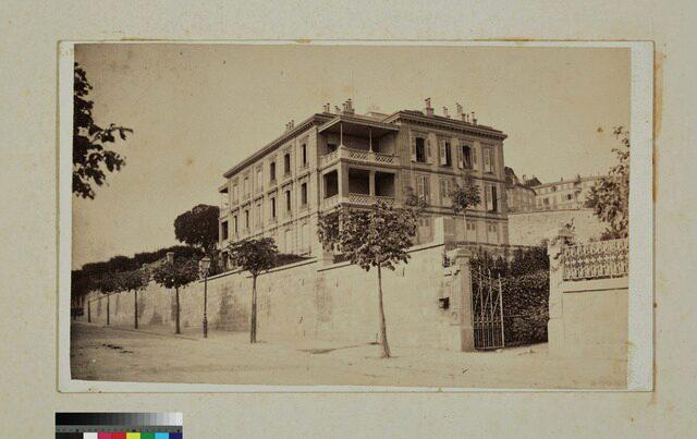 Lausanne, avenue du Théâtre, pension Campart (P.2.D.2.09.05.002)