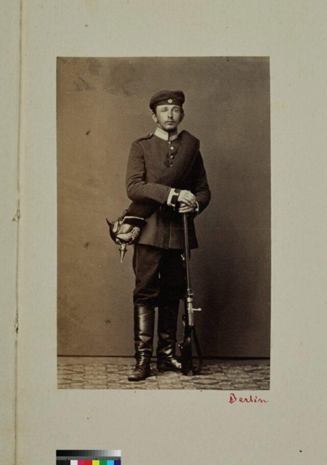 portrait, homme, soldat (P.2.D.2.09.46.004)