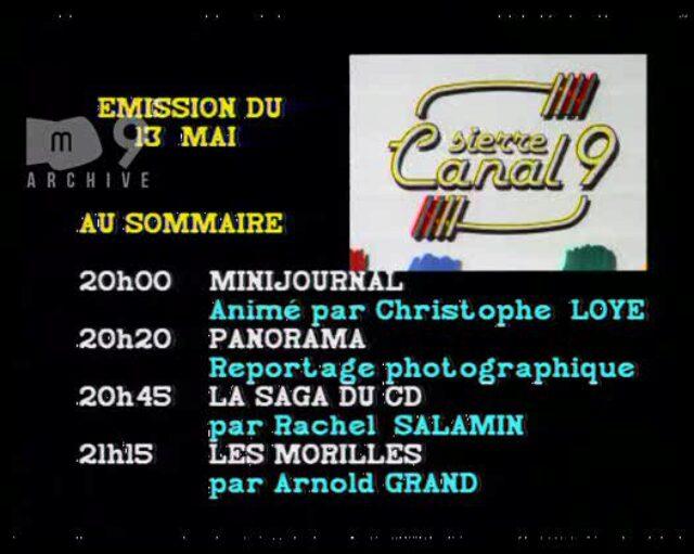 Emission du 13.05.1992