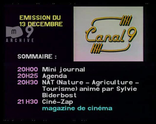 Emission du 13.12.1995 (1/2)