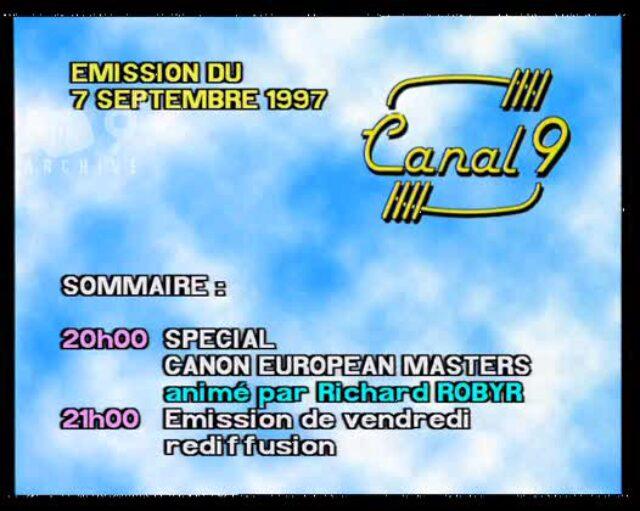 Emission du 07.09.1997