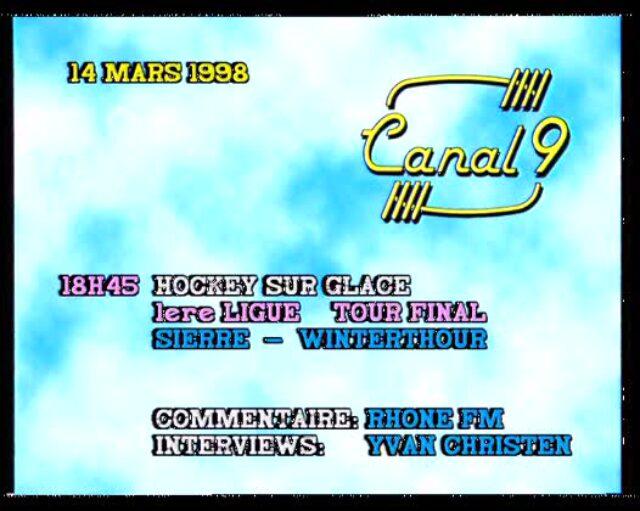 Emission du 14.03.1998 (1/2)