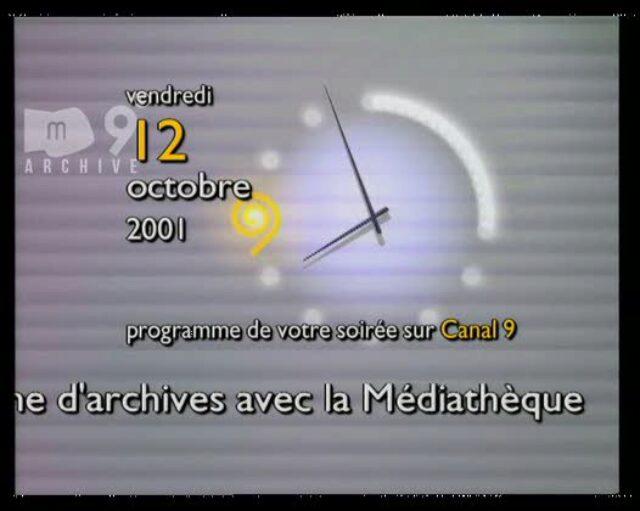 Emission du 12.10.2001 (1/2)