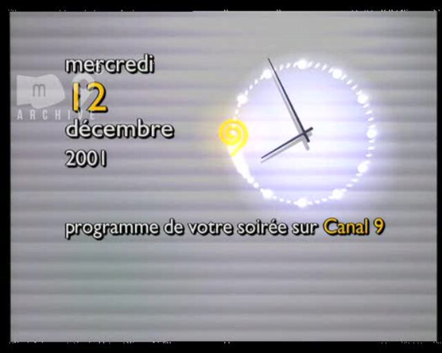 Emission du 12.12.2001 (1/2)
