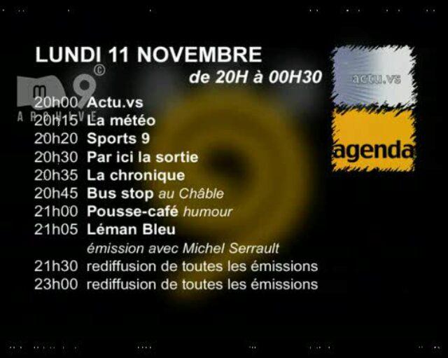 Emission du 11.11.2002