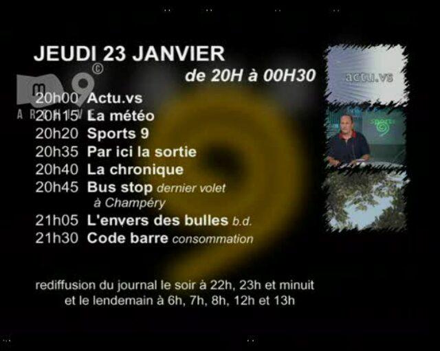 Emission du 23.01.2003 (1/2)