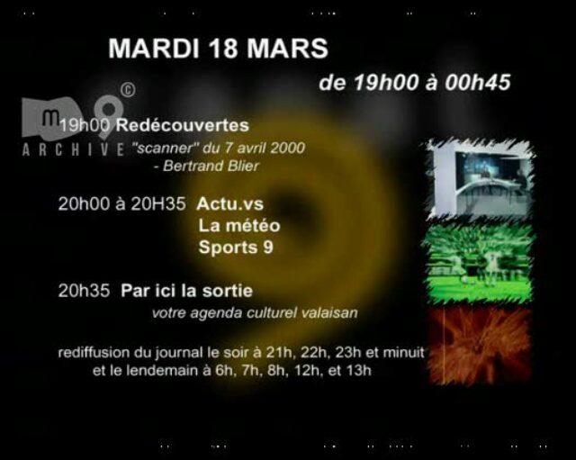 Emission du 18.03.2003