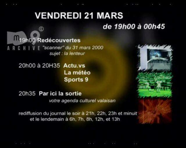 Emission du 21.03.2003