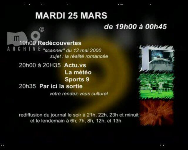Emission du 25.03.2003