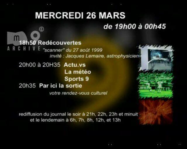 Emission du 26.03.2003