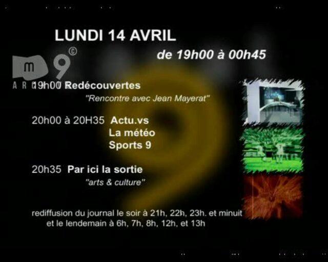 Emission du 14.04.2003