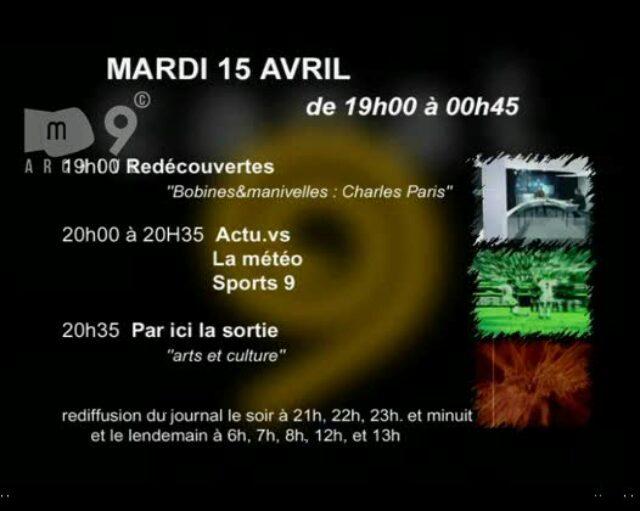 Emission du 15.04.2003