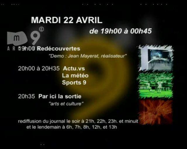 Emission du 22.04.2003