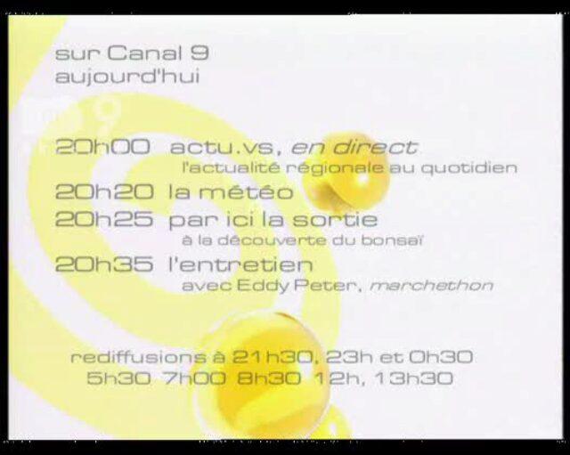 Emission du 28.10.2004