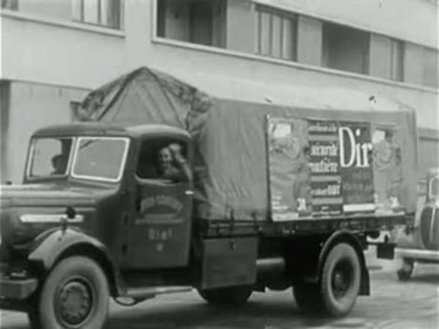 [Bauarbeiten in Biel, 1951]