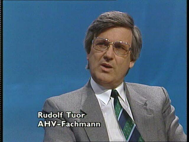 Treffpunkt vom  24.04.1987; Informationen zur AHV (1/4)