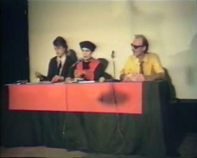 Stauffacher Tribunal, Mai 1984