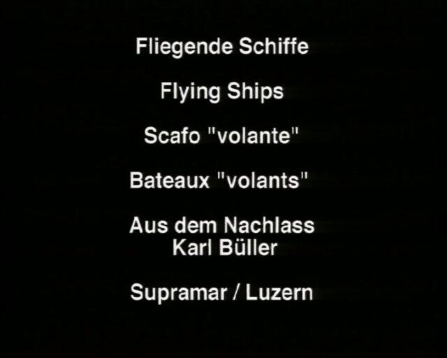 Digitalfilm über Tragflügelboote